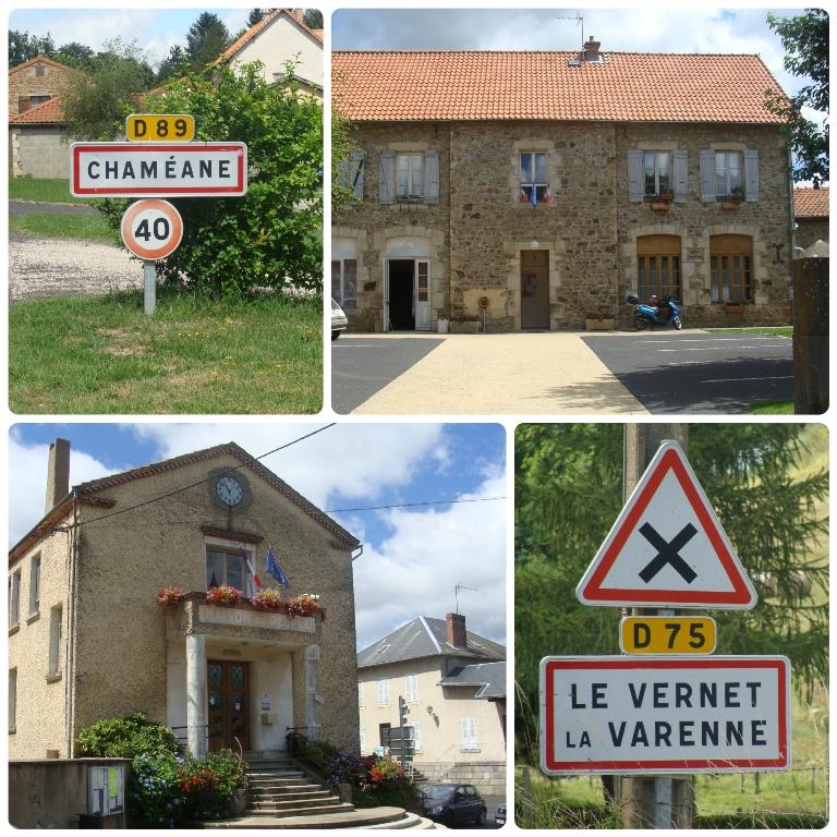 Chaméane – Vernet la Varenne : maires et élus