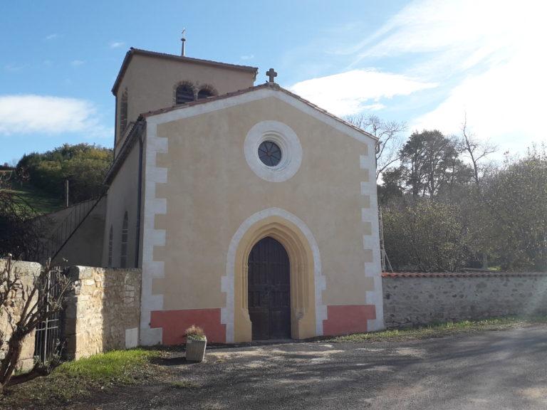L'église Saint-Jean-Baptiste à Saint-Jean-en-Val